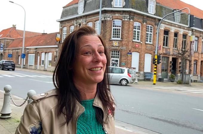 Hannelore Decuypere wil geen kwaad woord horen over Geluwe, ook al verlaat ze binnenkort zelf haar gemeente.© KVdm