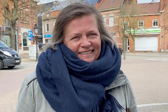 Kristel Aerts kwam uit Bonheiden naar Wervik voor de liefde. Intussen voelt ze ook liefde voor Wervik.© KVdm