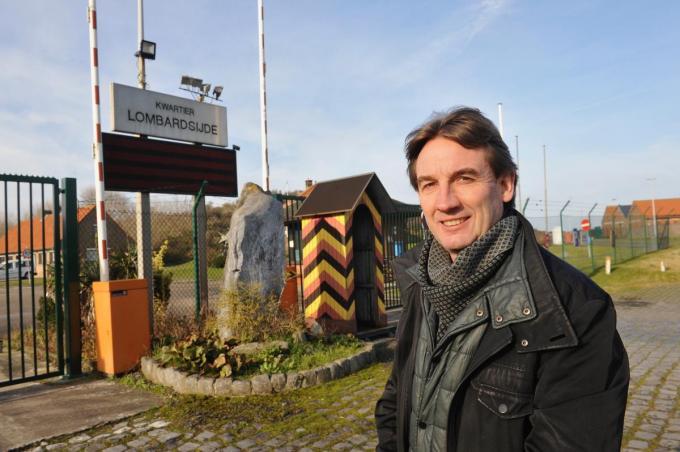 Rik Lips was voorvechter om de helikopters naar Nieuwpoort te halen.©Isabelle Vanhassel