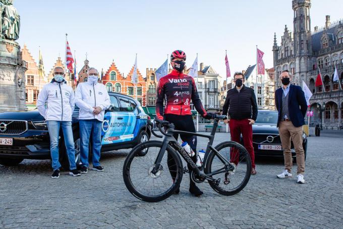We zien Wim Decleir, Alain Demortier, Diederik Ampe, Franky Demon en Pieter Marechal op de voorstelling.© Davy Coghe