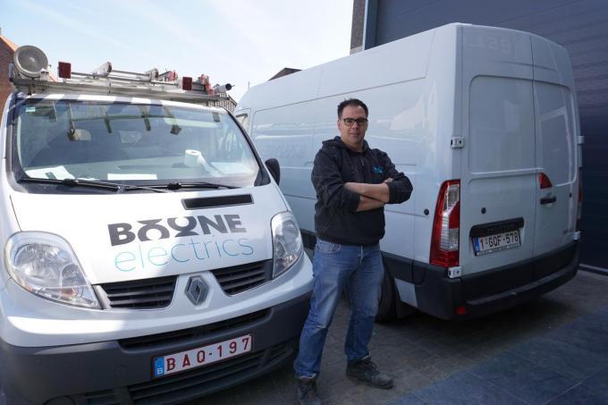 Geert Boone van Boone Electrics.© foto GS
