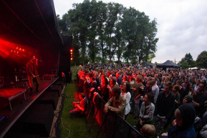 Dansen bij live muziek op Melkrock zal ook voor deze zomer niet zijn, er is te veel onzekerheid.©Wouter Meeus