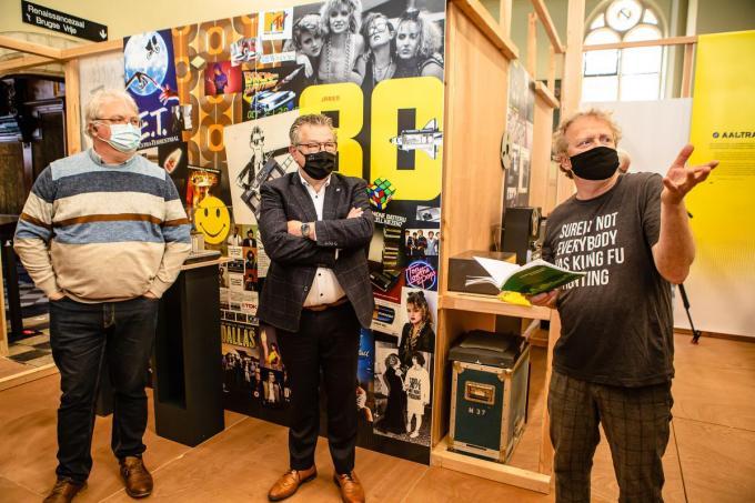 Officiële opening expo 'Ik was 18 in '80' in het Stadsarchief.© Davy Coghe