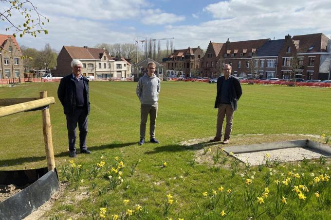 Bernard Heens, Natnan Duhayon en Geert Debergh.© EF