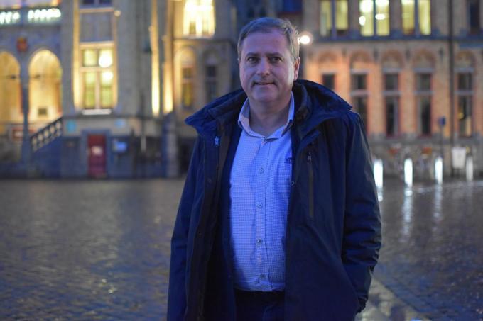 Burgemeester van Poperinge Christof Dejaegher (CD&V).© TOGH