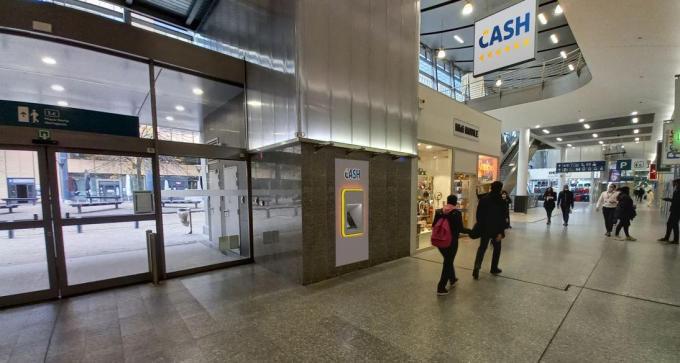 De Batopin-automaten dragen geen merknaam van een van de banken.©Olaf Verhaeghe OV