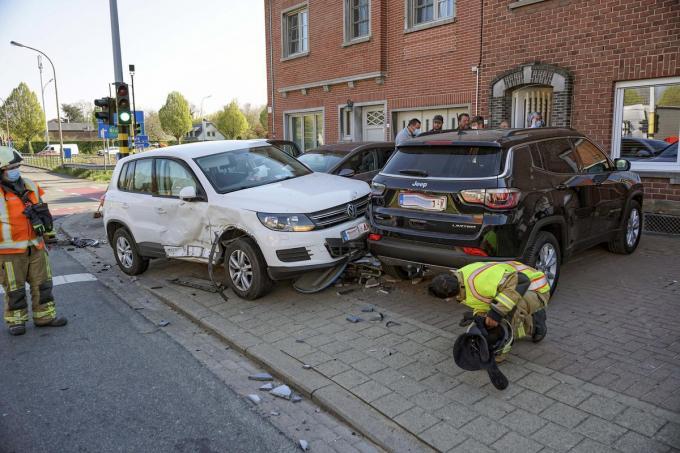 Andermaal was het bewuste kruispunt het toneel voor een zwaar ongeval.© CLL