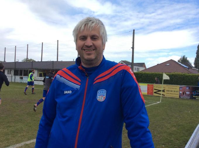 Kurt Roose was twee seizoenen assistent coach bij VVC Beernem, nu wenkt Daring Brugge.© JPV