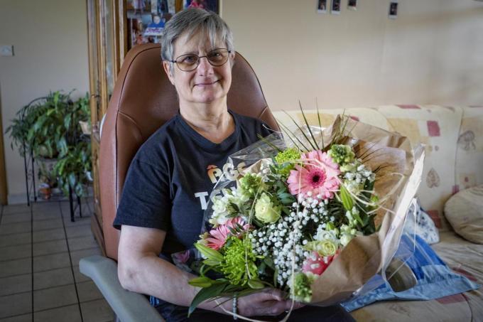 Rita Denoeud wil haar kleinkinderen zo snel mogelijk vastpakken en knuffelen. (foto CLL)