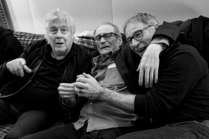 Boezemvrienden Arno, Paul Decouter en Danny Willems (v.l.n.r.) op hun laatste uitstapje samen naar Parijs.© Danny Willems