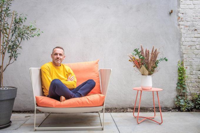 """Nieuwsanker Xavier Taveirne: """"Op het werk ben ik zelden emotioneel.""""© (foto Christophe De Muynck)"""