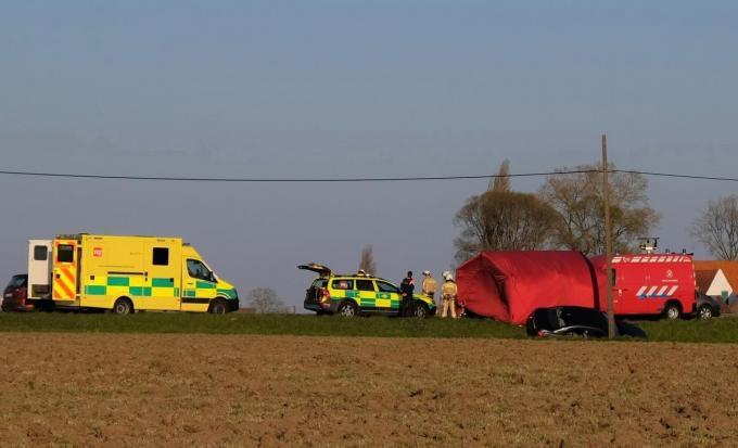 Het slachtoffer overleed uiteindelijk aan de gevolgen van het verkeersongeval.© JH