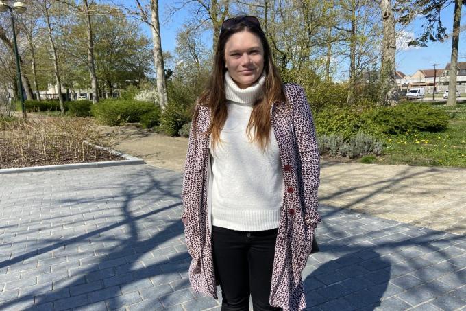 Josje Vandenaweele wil eerst een huis vinden in Zedelgem en dan wil ze met vriend Bert een gezinnetje stichten© KVdm