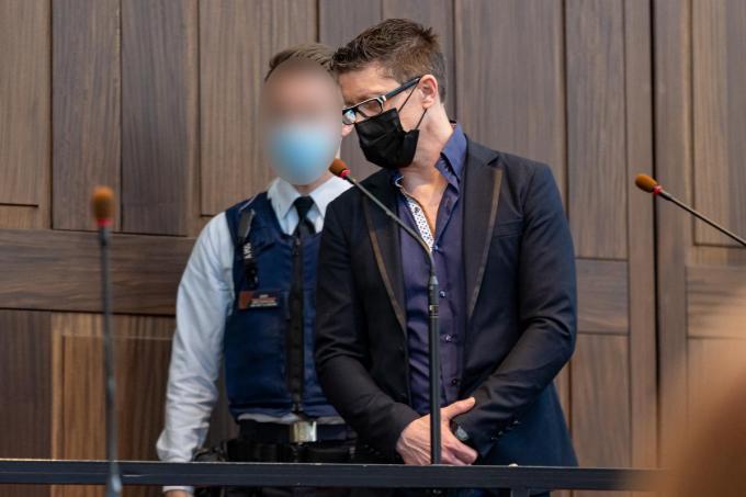 De beschuldigde.©KURT DESPLENTER BELGA