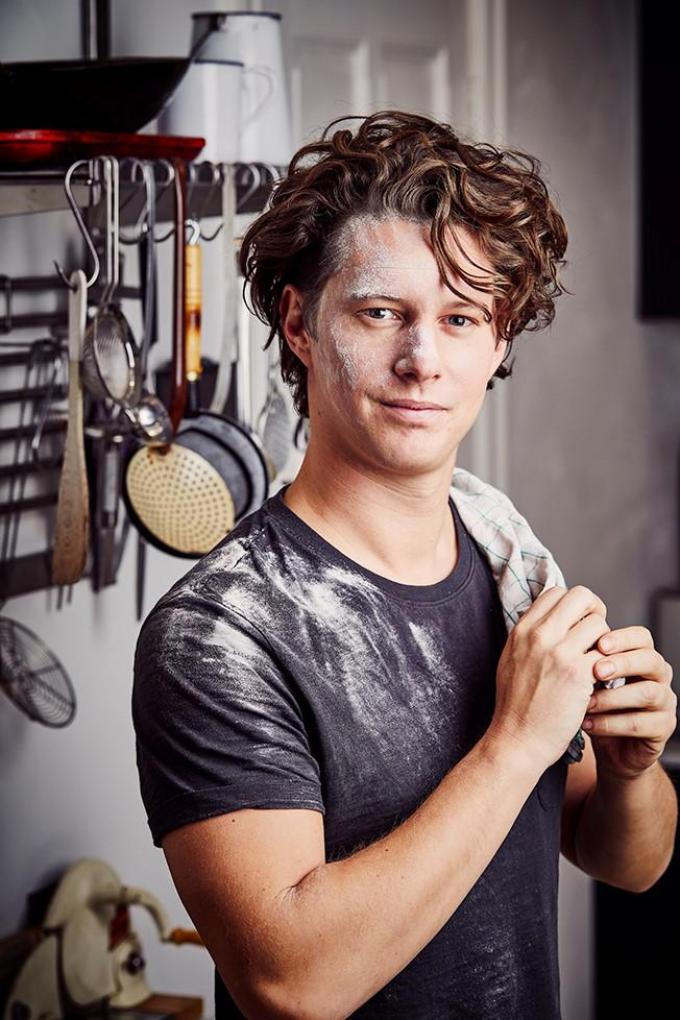 """Jelle Beeckman: """"Koken moet je vooral graag doen.""""©Bram Debaenst"""