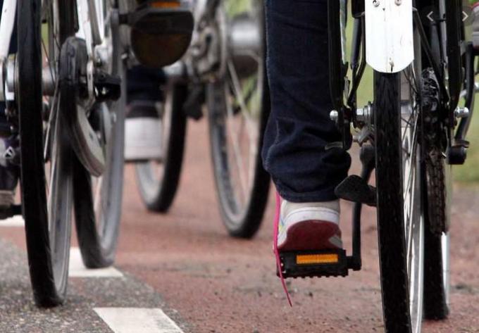 Het dreigt een duur fietspad te worden....© gf