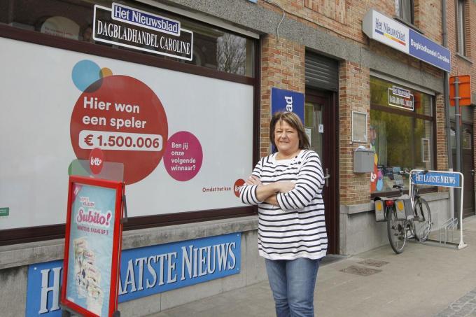 Caroline Tyteca, de dame van 3 miljoen.©GINO COGHE Foto Coghe