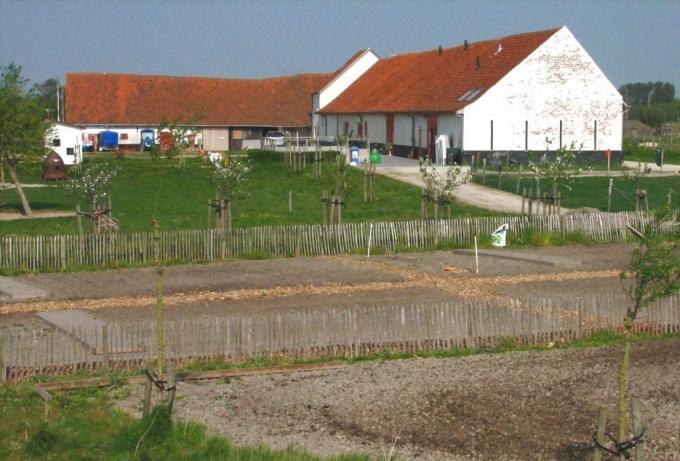 De kinderboerderij krijgt een grondige renovatie.© Beeldbank Kusterfgoed