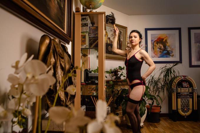 Cecylia Kociuba maakt een comeback met haar bedrijf Dust Bunnies.© Davy Coghe