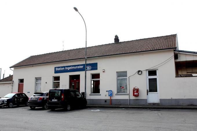 De NMBS wil sowieso het stationsgebouw verkopen.©FODI FODI