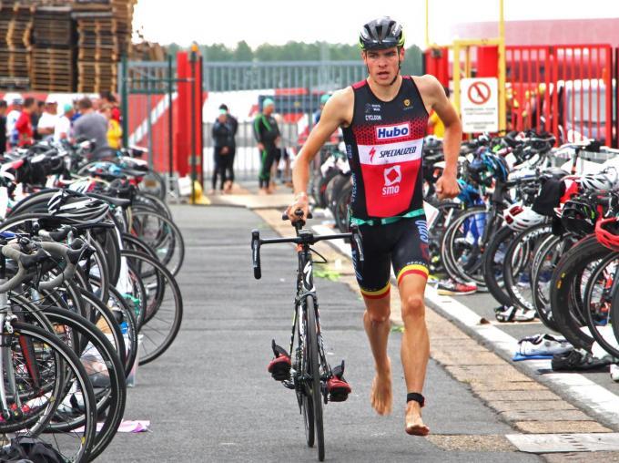 Joris Basslé zette tijdens het testevent de snelste tijd neer in de individuele supersprint.© ACR