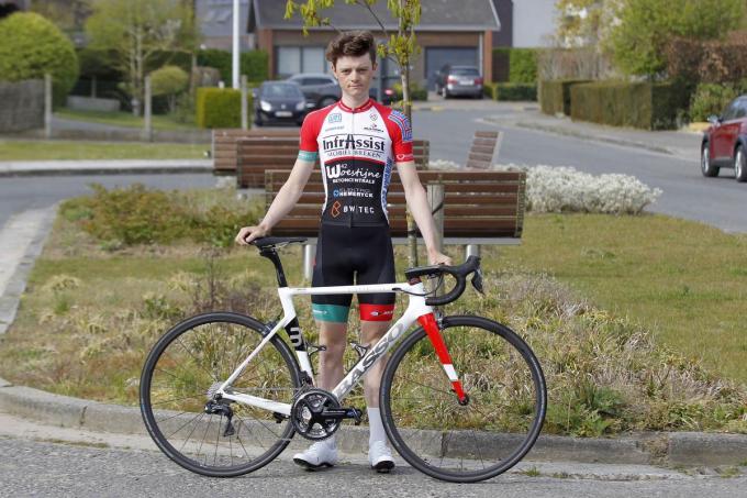 Arno Debeir hoopt zo vlug mogelijk opnieuw in competitie te kunnen treden.© Foto Coghe