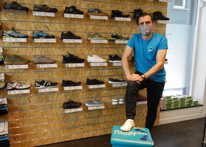 """Thomas De Vriendt: """"Ik heb zelfs al klanten die van de andere kant van het land naar hier afzakken."""" (foto AN)"""