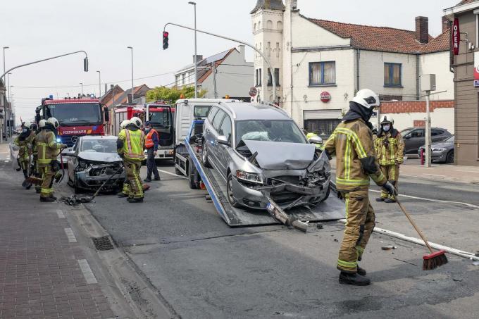 De schade na het ongeval was groot.© CLL