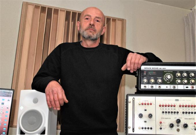 Kris Belaen zat onder meer in de studio met de metalbands Amenra en Aborted.© MV