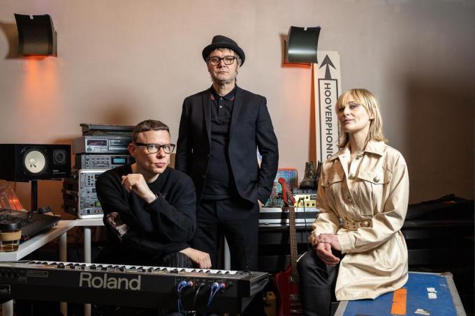 Hooverphonic is één van de headliners voor de Dranouter Zomersessies XL.©JAMES ARTHUR GEKIERE BELGA