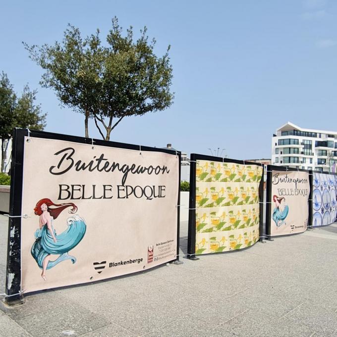 Sfeer in het straatbeeld van Blankenberge.© WK
