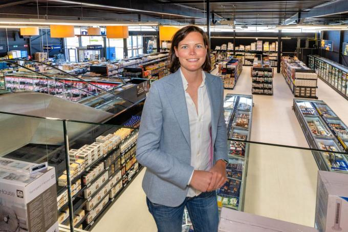 Joy Sclabi, regional manager West-Vlaanderen van Metro Cash&Carry.© Luc Cassiman