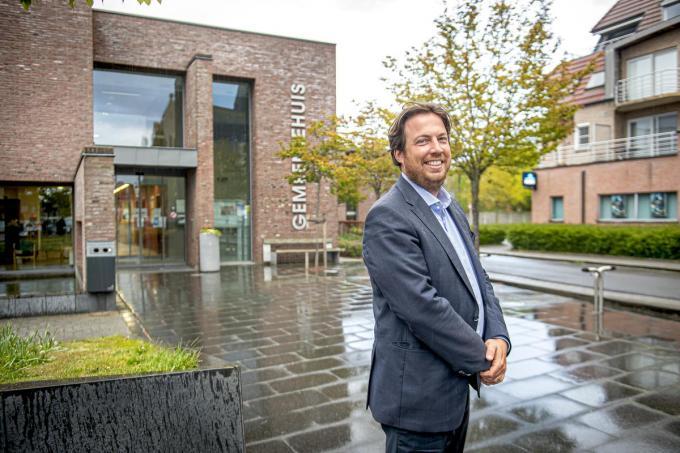 """Pieter Callens: """"Interesse voor publiek kreeg ik met paplepel binnen."""" (foto JCR)"""