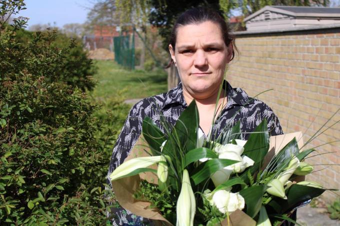 Anja Deroo uit Poperinge: een mama uit de duizend.© mlt