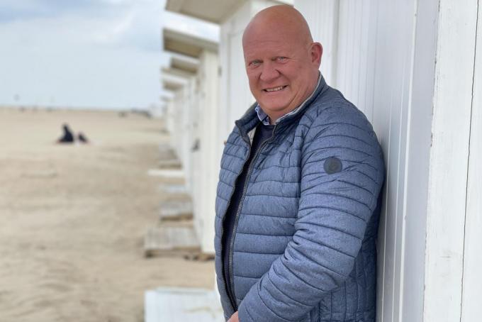 """Vincent Drouard: """"We bundelen alle facetten van het strandgebeuren.""""© Jeffrey Roos"""