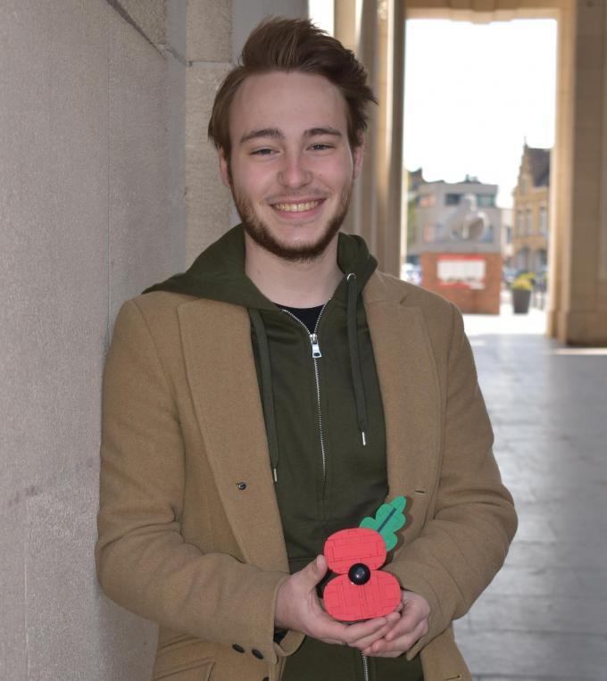 """Corneel Clarys: """"Ik heb ooit eens een poppy in Lego gemaakt om cadeau te doen aan iemand.""""© TOGH"""