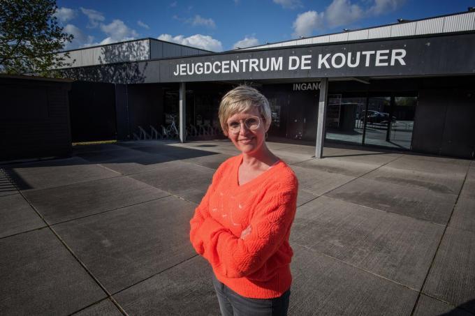 """Schepen Loes Vandromme: """"We zijn tevreden dat we met extra ondersteuning vanuit Vlaanderen gerichter kunnen inspelen op waar jongeren mee worstelen.""""© (Foto MD)"""
