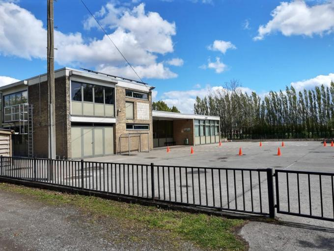 VBS De Mozaïek op Sleihage blijft deze week gesloten na een corona-uitbraak.© JT