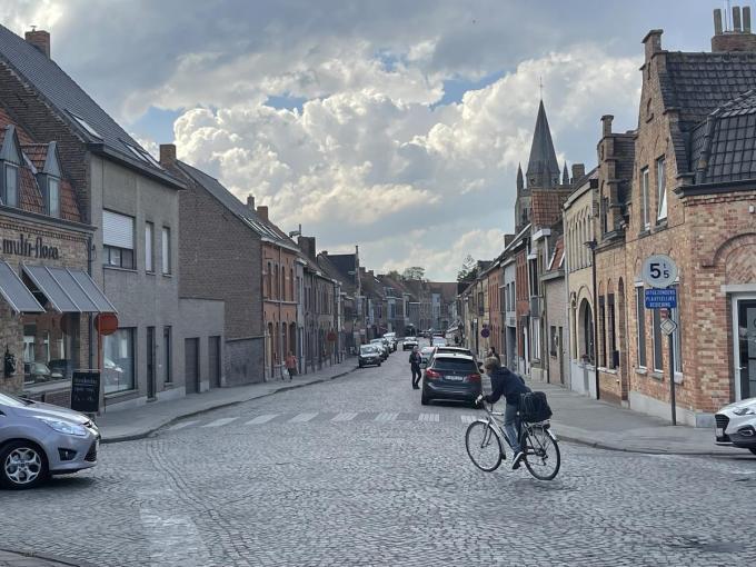 Onder meer de zone 30 in het centrum van Vlamertinge wordt uitgebreid.© TP