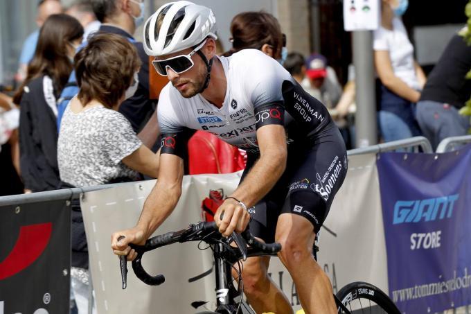 Warre Vangheluwe wil zich meteen tonen in de GP Vermarc.©GINO COGHE foto Coghe