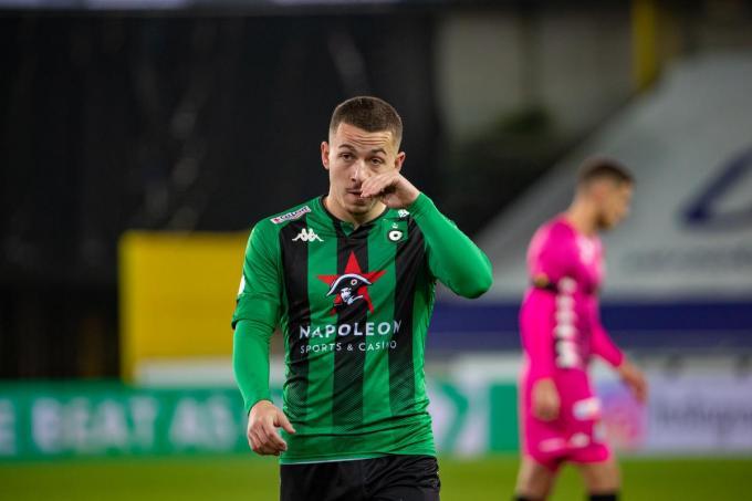 Kylian Hazard ligt nog onder contract tot juni volgend jaar. Valt hij opnieuw in de gratie of dient er zich een nieuwe werkgever aan?© (Foto Belga)