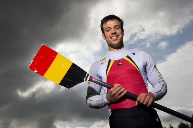 """Pierre De Loof: """"In Luzern is het onze enige kans om deel te nemen aan de Spelen.""""© Belga"""
