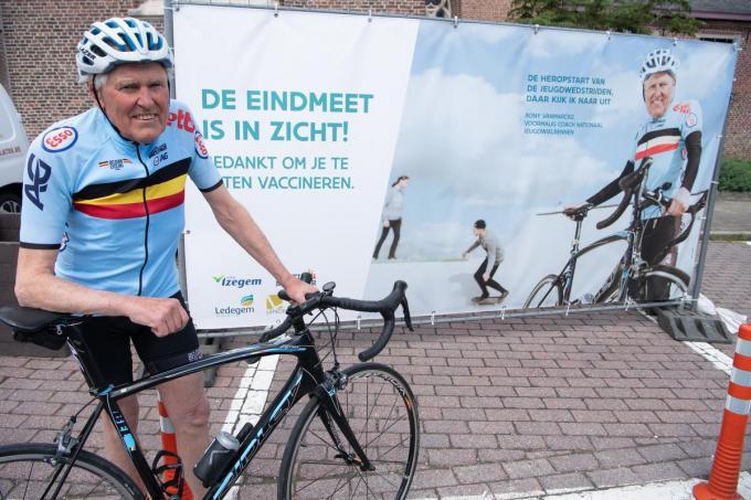 Rony Vanmarcke wil zo snel mogelijk weer de jonge renners zien fietsen in wedstrijden.© Frank Meurisse