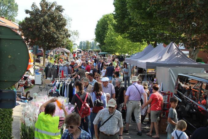 Dit jaar geen overrompeling van de Rodenbachwijk tijdens de Aarthurfeesten.© JT