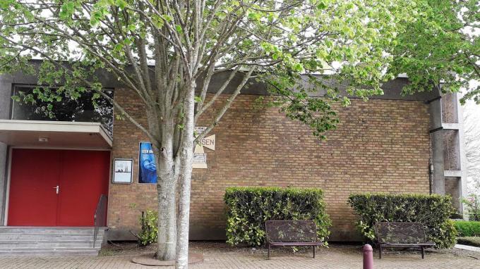 Vanaf 31 mei tot 30 juni gaat de deur van de Sint-Michielkerk in Roksem open voor studenten.© foto LIN