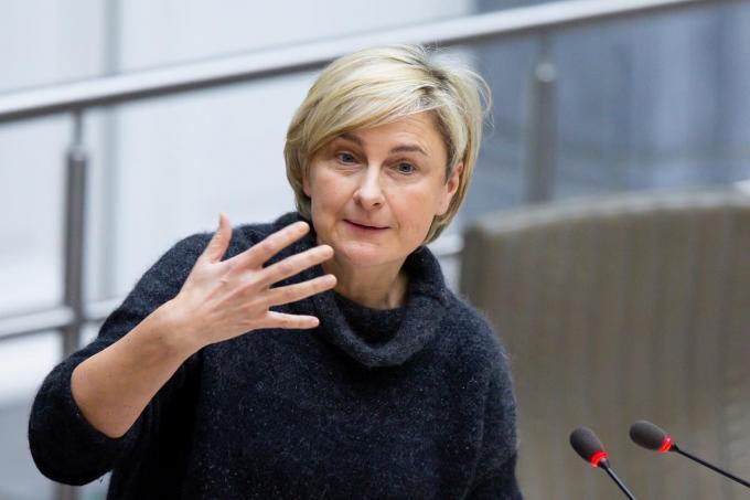 Vlaams minister van Landbouw en Voeding Hilde Crevits (CD&V).© BELGA