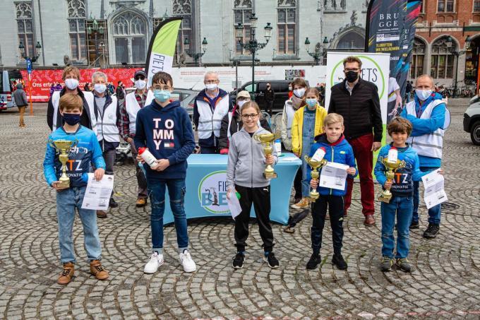 BRUGGE -- West-Vlaams kampioenschap surplacen.© Davy Coghe