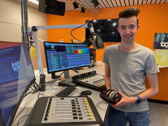 Keith Flameygh is tegenwoordig geregeld op TOPradio te horen, waar hij wordt ingeschakeld als vervanger. Hij blijft ook actief op WRadio. (foto WVH)