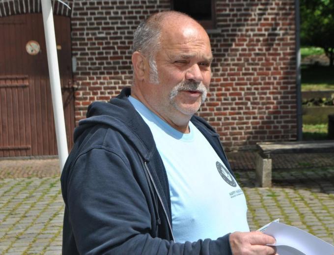 Benny Haemers was jarenlang bestuurslid van het Davidsfonds in Kuurne. (foto AD)