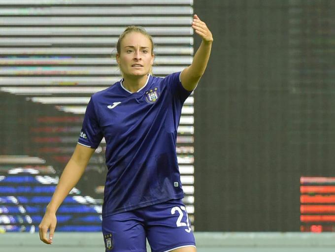 Tessa Wullaert scoorde tweemaal.©Vuylsteke Dirk / VDB VDB